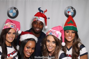 Houston Texans Cheerleaders and #24 Jonathan Joseph