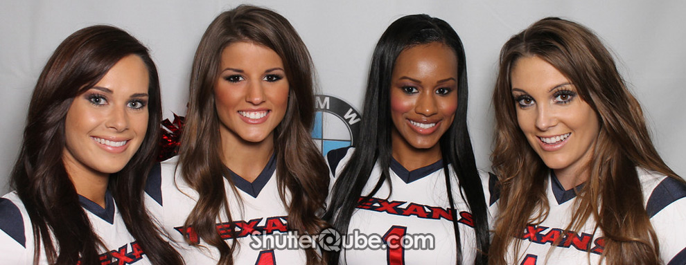 Houston Texans Cheerleaders at Momentum BMW Southwest in Houston, TX
