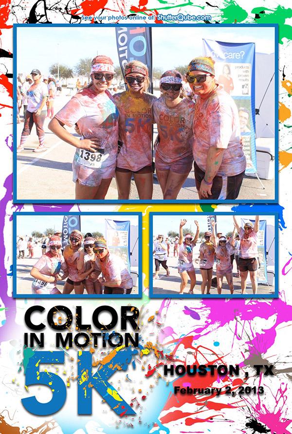Color in Motion 5K 2013 - Houston, TX