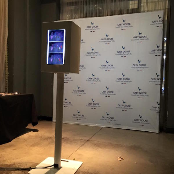 Grey Goose NYE photo booth rentals