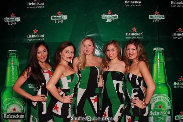 Heineken Star Bottle Launch Party 2013