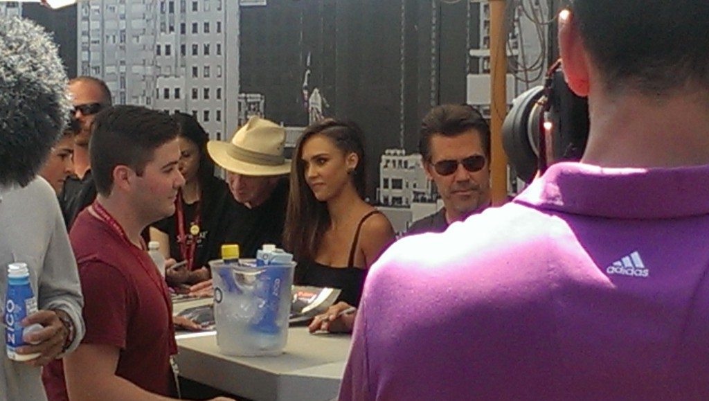 Jessica Alba Sin City 2 Comic Con TWC Photo Booth Rental