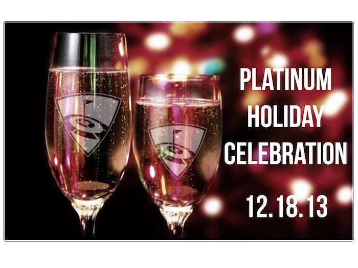 Platinum Happy Hour Sign