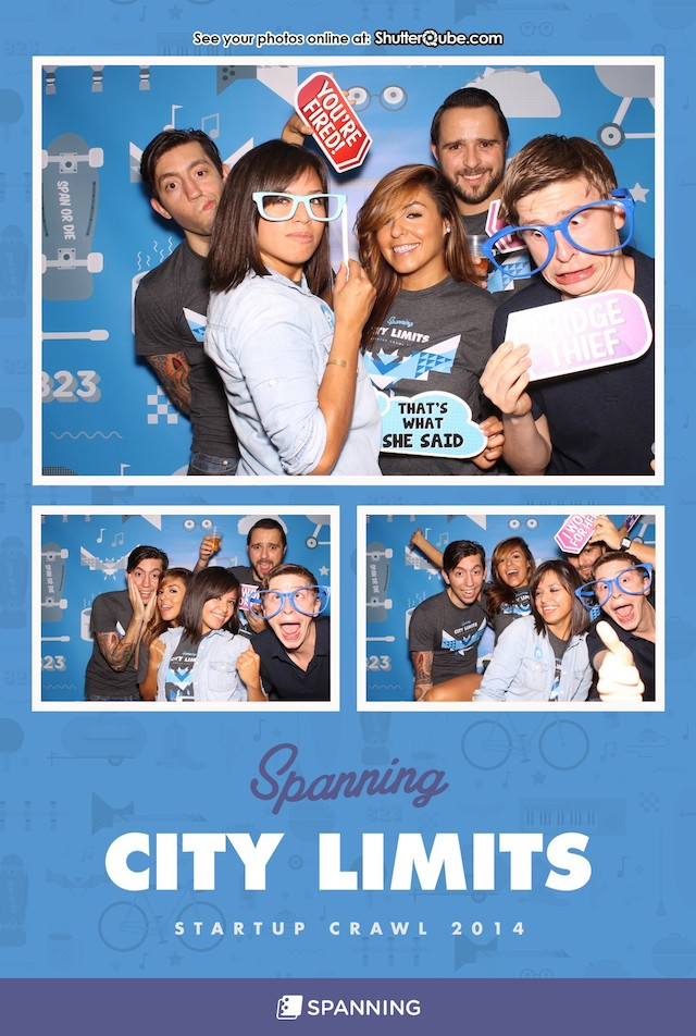Spanning Photo Booth Rental Austin TX ACL ACL2014 Startup Crawl