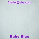 baby blue photo booth backdrop